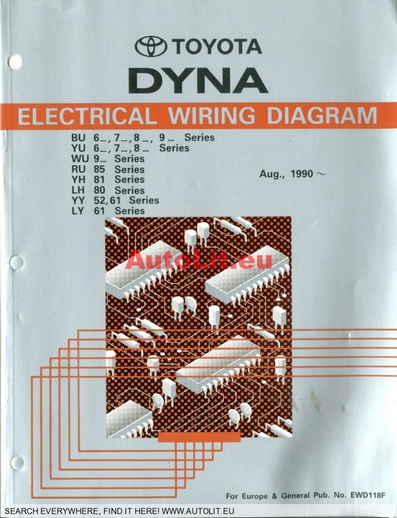1 1990 toyota dyna bu, yu, wu, ru, yh, lh, yy ly electrical wiring wiring diagram 1992 toyota dyna at eliteediting.co